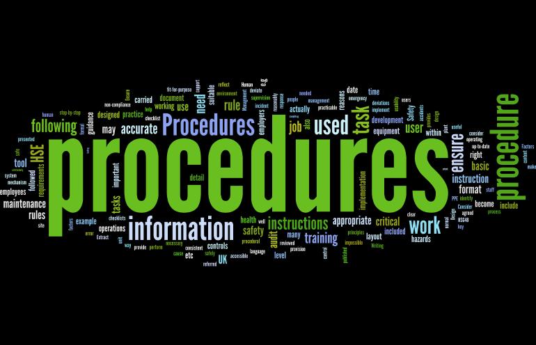 Procedures Human Factors 101