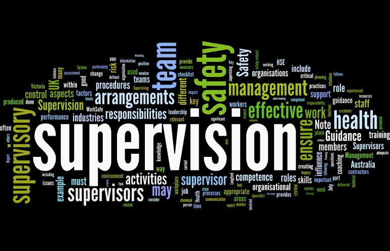 Supervision Human Factors 101
