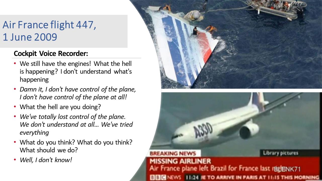 Flight AF447 - humanfactors101.com