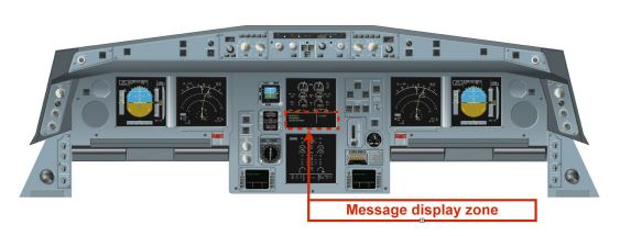 AF447 - ECAM messages display zone - humanfactors101.com